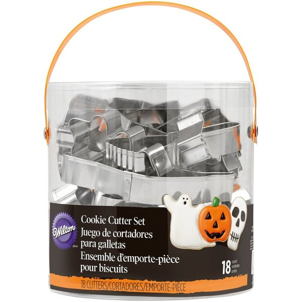 Wilton Metal Cookie Cutter Halloween Set/18