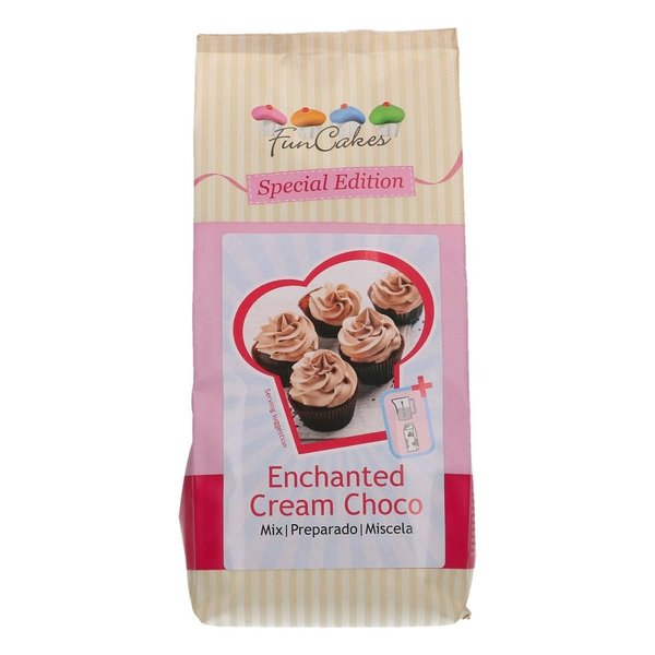 FunCakes Mix für Zaubercreme Schoko  Enchanted Cream® 450g