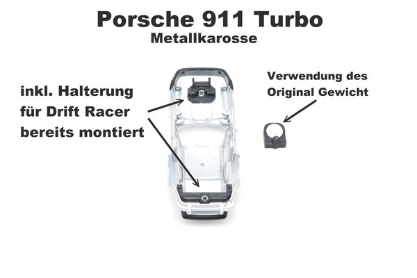 Adapter Set für Welly Porsche Nr. 43683