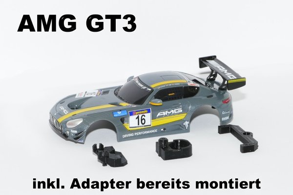 Mercedes AMG GT3 inkl. Adapterset