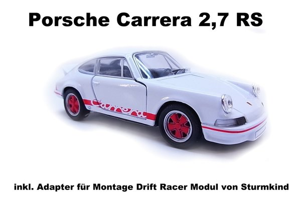 Porsche Carrera RS Karosse inkl. Adapter / Farbe Rot