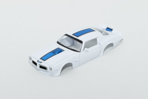 Trans AM 1:43 Farbe Weiss in Metall
