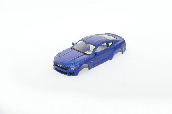Ford Mustang GT 2015 / 1:43 inkl Adapter / blau