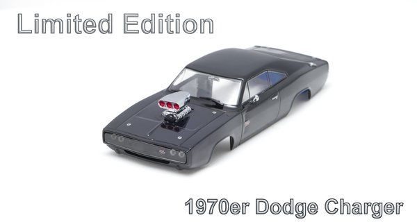 Dodge Charger Limited 1:43 inkl Adapter