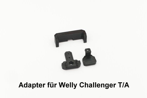 Adapter Set für Dodge Challenger T/A von Welly